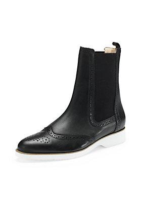 - Damen Chelsea Boots aus Leder