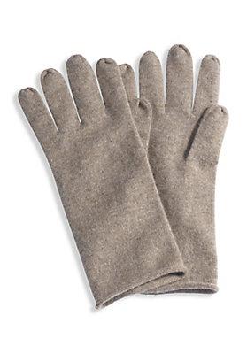 - Damen Handschuhe aus Schurwolle mit Kaschmir