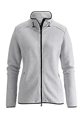 - Damen Jacke aus reinem Bio-Baumwoll-Fleece