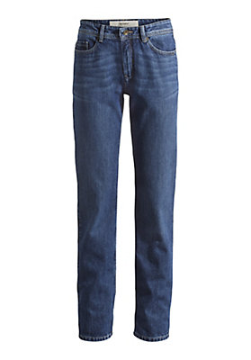 - Damen Jeans Comfort Fit aus reinem Bio-Denim