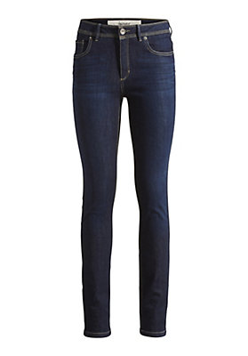 - Damen Jeans Slim Fit aus Bio-Denim