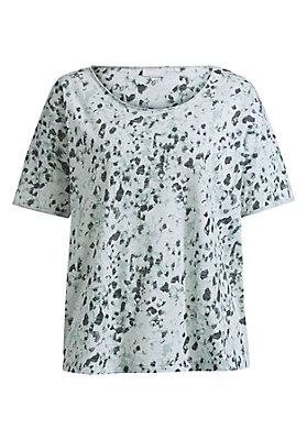 - Damen Oversize-Shirt mit Animal-Print