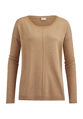 - Damen Pullover aus Schurwolle mit Kaschmir