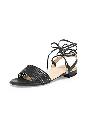 - Damen Sandalette aus Leder