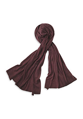 - Damen Schal aus Schurwolle mit Kaschmir