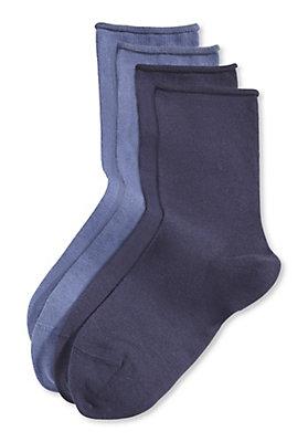 - Damen Socke im 2er Pack aus Bio-Baumwolle