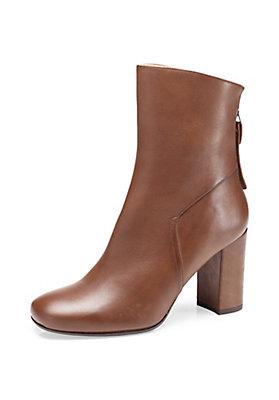 - Damen Stiefelette aus Leder