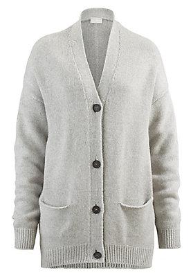 - Damen Strickjacke aus recycled Cashmere