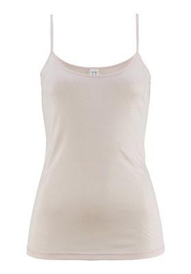 - Damen Trägerhemd aus reiner Bio-Seide