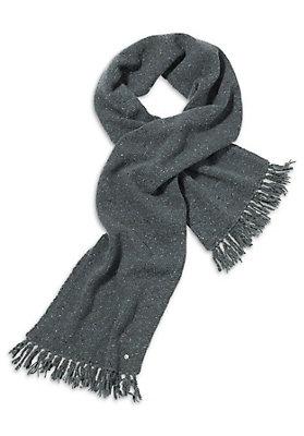 - Damen Tweedschal aus reiner Schurwolle