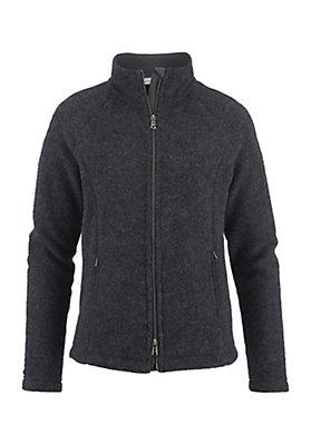 - Damen Wollfleece-Jacke aus reiner Schurwolle