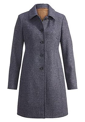 - Damen Wollmantel aus reiner Schurwolle
