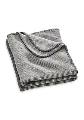 - Decke aus reiner Schurwolle