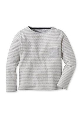 - Doubleface Shirt aus reiner Bio-Baumwolle