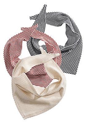 - Dreieckstuch, 3er-Set, aus reiner Bio-Baumwolle