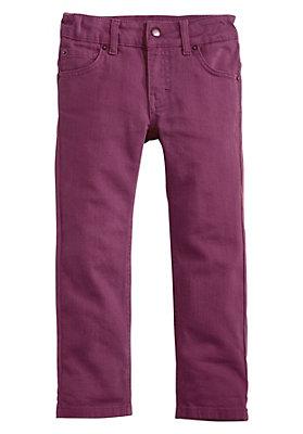- Farbige Jeans aus reiner Bio-Baumwolle