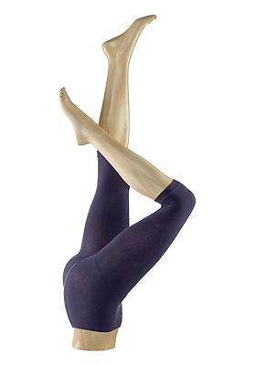- Feinstrumpf-Capri-Leggings aus Bio-Baumwolle