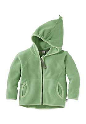 - Fleece Jacke aus reiner Bio-Baumwolle