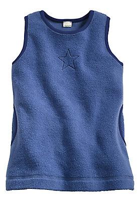 - Fleece Kleid aus reiner Bio-Baumwolle