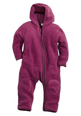 - Fleece-Overall aus reiner Bio-Baumwolle
