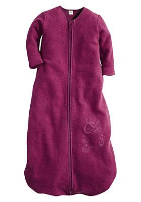 - Fleece-Schlafsack aus reiner Bio-Baumwolle