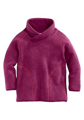 - Fleece-Sweatshirt aus reiner Bio-Baumwolle