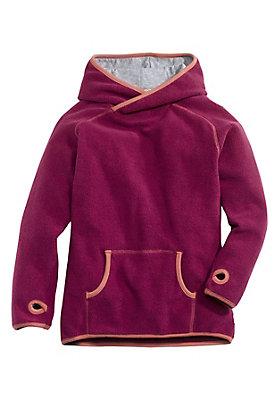 - Fleece Sweatshirt aus reiner Bio-Baumwolle