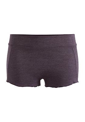 - French-Shorts aus Bio-Merinowolle mit Seide