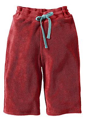 Shorts/Bermudas - Frottee-Caprihose aus reiner Bio-Baumwolle