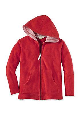 - Frottee Jacke aus reiner Bio-Baumwolle