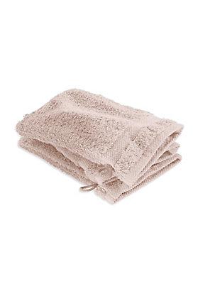 - Frottee-Waschhandschuh im 3er-Pack aus reiner Bio-Baumwolle