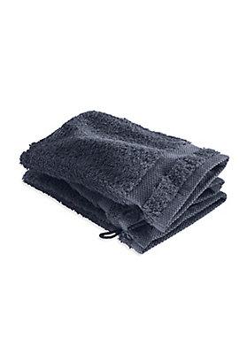 - Frottee-Waschhandschuh im 3er-Set aus reiner Bio-Baumwolle