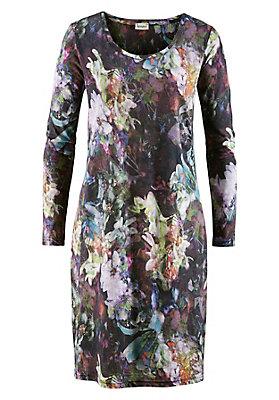 neukunden-aktion - Gemustertes Kleid aus reiner Bio-Baumwolle