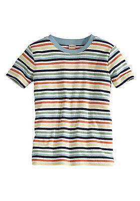 - Geringeltes Shirt aus reiner Bio-Baumwolle