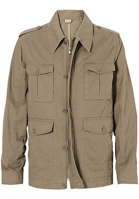 Jacken - Gewebejacke aus reiner Bio-Baumwolle