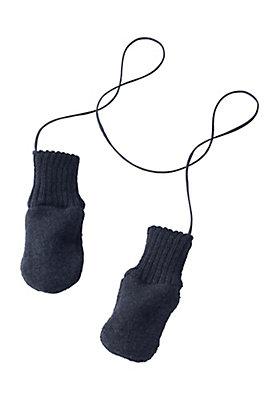 - Handschuhe aus reiner Bio-Schurwolle