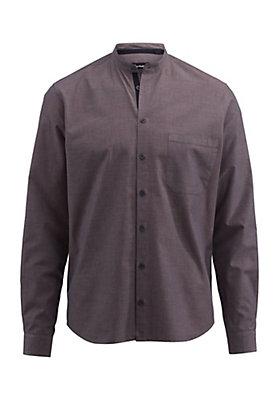 - Hemd Modern Fit aus Bio-Baumwolle, Hanf und Yakwolle