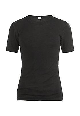 - Herren Halbarm-Shirt aus reiner Bio-Merinowolle