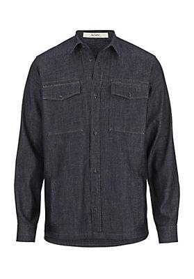 - Herren Jeans Hemdjacke aus reiner Bio-Baumwolle