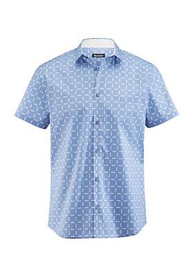 - Herren Kurzarm-Hemd Slim Fit aus Bio-Baumwolle