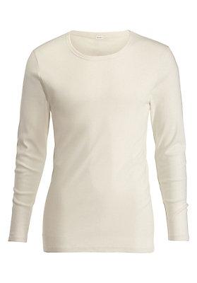 - Herren Langarm-Shirt aus reiner Bio-Baumwolle