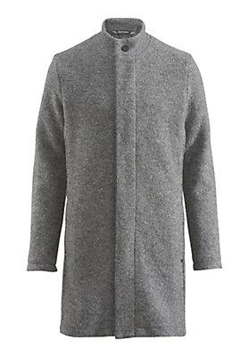 - Herren Mantel aus reiner Schurwolle