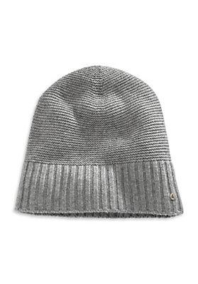 - Herren Mütze aus Schurwolle mit Kaschmir