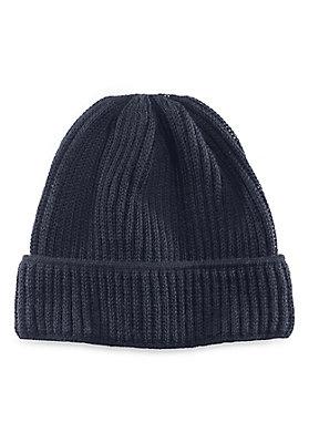 - Herren Mütze aus reiner Merinowolle