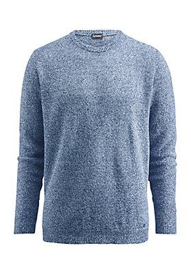 - Herren Pullover aus reinem Leinen