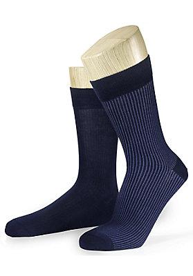 - Herren Socke im 2er-Pack aus reiner Bio-Baumwolle