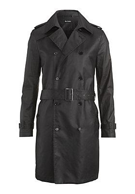 - Herren Trenchcoat aus reiner Bio-Baumwolle