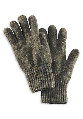 - Herren Tweed-Handschuhe aus reiner Schurwolle