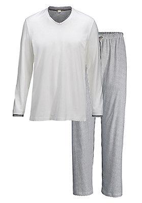 pyjama-partnerlook - Herrenpyjama aus reiner Bio-Baumwolle