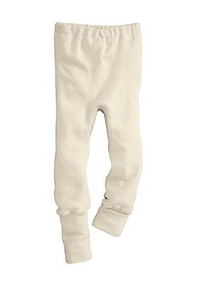 - Hose aus Bio-Merinowolle mit Seide